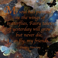 Quote of the Day - My soul has painted...