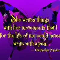 Quote of the Day - She writes things...